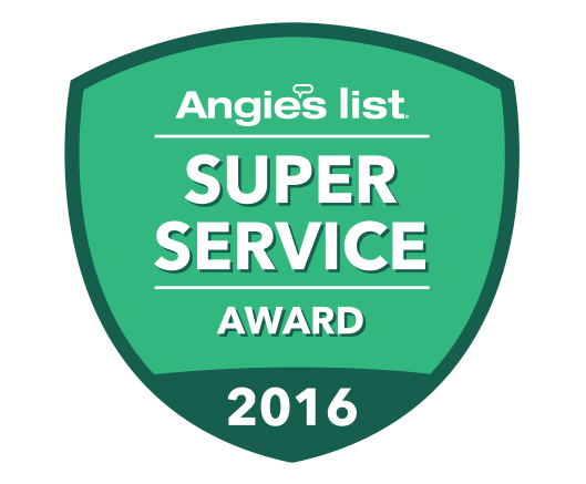 A. P. Mathews Heating & Air Conditioning is the proud recipient of Angie